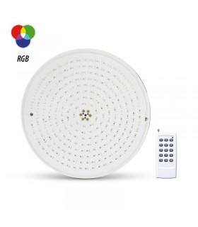 Projecteur LED piscine 18W Lm 12 Vac RBG Telecde 6104 3701124417732