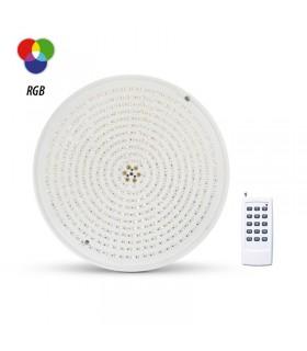 Projecteur LED piscine 32W Lm 12 Vac RBG Telecde 6105 3701124417749