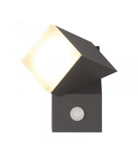 Applique murale LED 8W 3000 K 420 Lm gris 67813 3701124413093