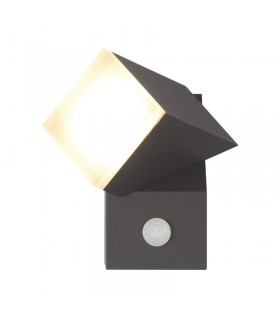 Applique murale LED 8W 4000 K 420 Lm gris 67814 3701124413109