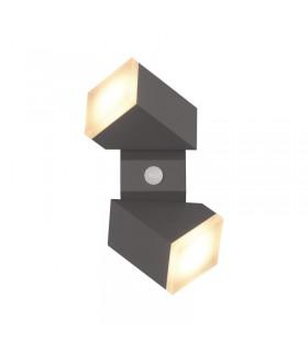 Applique murale LED 13W 3000 K 770 Lm gris 67815 3701124413116