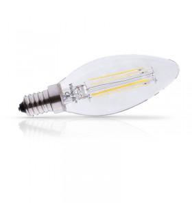 Ampoule LED Flamme E14 2W 3000 K 270 Lm 230 Vac 71221 3701124400529