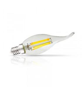 Ampoule coup de vent E14 4W 2700 K 495 Lm 230Vac 7124 3701124400598