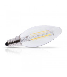 Ampoule LED Flamme E14 4W 2700 K 495 Lm 230 Vac 71271 3701124400611