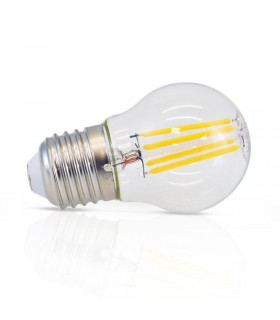 Ampoule LED bulbe E27 4W 2700 K 430 Lm 230 Vac 71381 3701124400710