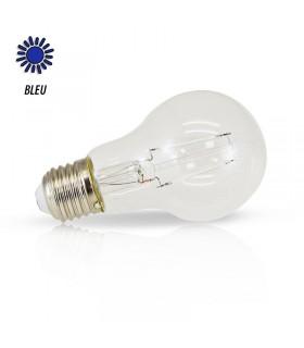 Ampoule LED bulbe bleu E27 2W 230 Vac 71383 3701124407528