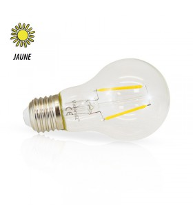 Ampoule LED bulbe jaune E27 2W 230 Vac 71387 3701124407566