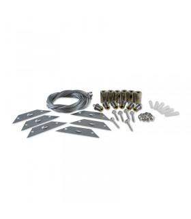 Kit de suspension pour dalle 6 câbles 73983 3760173777020