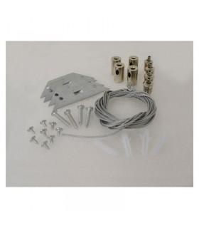 Kit de suspension pour dalle 4 câbles 73995 3760173778928