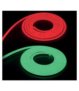 Bande neon 50m RGB IP 8W m avec alimentation avec telecommande 749824 3701124406026