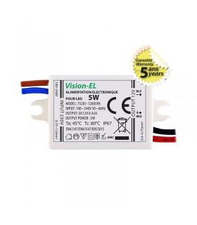 Alimentation pour LED 5W 12 Vdc 75281 3701124409416
