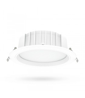 Luminaire de plafond 28W IP20 3000 Lm rond blanc 76512 3701124413369
