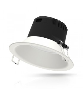 Luminaire de plafond 12W IP20 1200 Lm rond blanc 76536 3701124410122