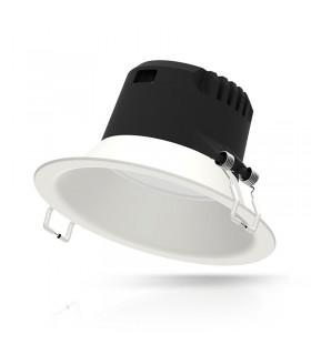 Luminaire de plafond 12W IP20 1200 Lm rond blanc 76537 3701124410139