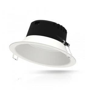 Luminaire de plafond 21W IP20 2050 Lm rond blanc 76538 3701124410146