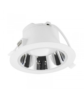 Luminaire de plafond 15W IP20 1300 Lm rond blanc 76541 3701124410221
