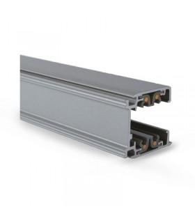 Rail gris triphase pour spots longueur 2m 82012 3760173775163