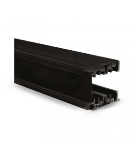 Rail noir triphase pour spots longueur 2m 82032 3760173775248