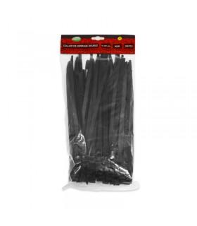 Collier de serrage 9x260mm noir pack de 100 9711 3701124419286