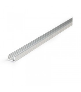 Profile led fin 2000mm alu brut 9805 3701124403889