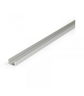Profile led fin 1000mm anodise 9806 3760173780235