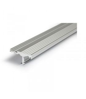 Profile led marche 1000mm anodise 9808 3760173780150