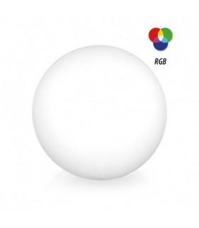 Boule lumineuse RGB solaire crepusculaire 60120 3701124421883