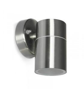 APPLIQUE MURAL LED 230 V 1 X GU10 IP54 INOX CYLINDRIQUE 316L 700360 3701124422279