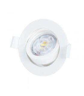 Ampoule LED Rond 5W 3000 K 350 385 Lm 220 240 Vac 763610 3701124423115