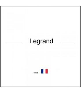 Legrand 020020 - PLAQUE ENTREE CABLE DECOUPABLE - 3245060200206