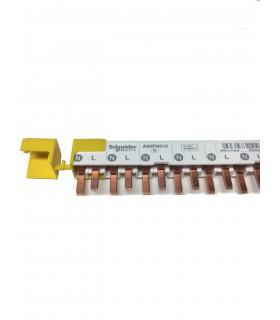 ACTI9 - IDT40 - PEIGNE - 1P+N - 12 MODULES DE 18MM - 80A - A9XPN612