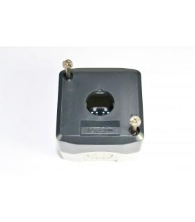 HARMONY XAL - BOITE 1 TROU Ø22 - COUVERCLE GRIS FONCE - FOND - XALD01