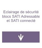 Eclairage de sécurité blocs SATI Adressable et SATI Connecté